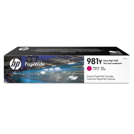 981Y Magenta PageWide | L0R14A оригинальный pagewide картридж HP, 16000 стр., пурпурный