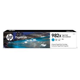 982X Cyan | T0B27A (HP) pagewide картридж - 20000 стр, голубой