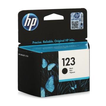 123 Black | F6V17AE (HP) - оригинальный струйный картридж с доставкой, черный 120 стр
