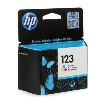 HP 123 Color | F6V16AE оригинальный струйный картридж - цветной, 100 стр