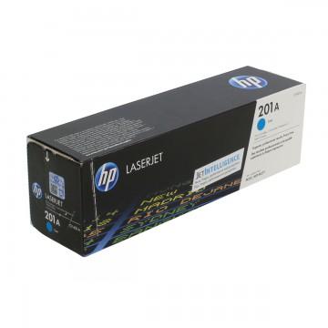 HP 201A Cyan | CF401A оригинальный лазерный картридж - голубой, 1400 стр