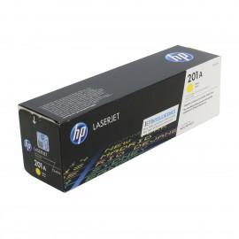 CF402A HP 201A оригинальный лазерный картридж HP жёлтый, ресурс - 1400 страниц