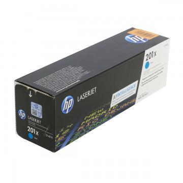 HP 201X Cyan | CF401X оригинальный лазерный картридж - голубой, 2300 стр
