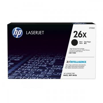 HP 26X Black | CF226X оригинальный лазерный картридж - черный, 9000 стр