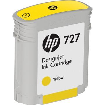HP 727 Yellow | B3P15A оригинальный струйный картридж - желтый, 40 мл