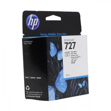 HP 727 Photo black | B3P17A оригинальный струйный картридж - черный-фото, 40 мл