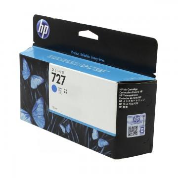HP 727 Cyan | B3P19A оригинальный струйный картридж - голубой, 130 мл