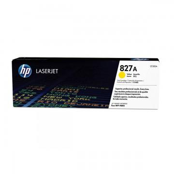 HP 827A Yellow | CF302A оригинальный лазерный картридж - желтый, 32000 стр