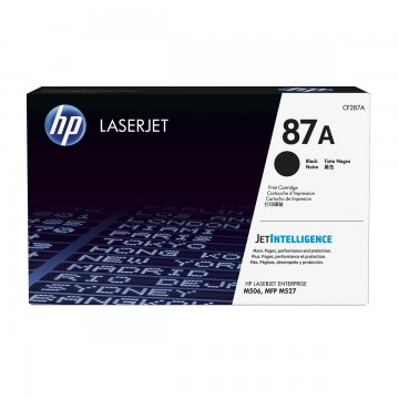 HP 87A Black | CF287A оригинальный лазерный картридж - черный, 9000 стр