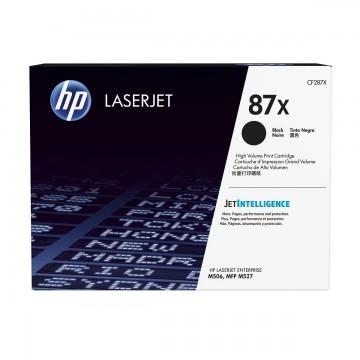 HP 87X Black | CF287X оригинальный лазерный картридж - черный, 18000 стр