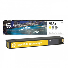913A Yellow | F6T79AE (HP) pagewide картридж - 3000 стр, желтый