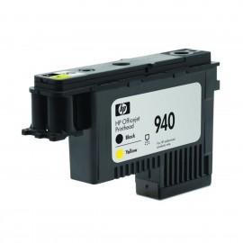 940 Bk + Y Print Head | C4900A оригинальный печатающая головка HP, 4000 стр., черный + желтый