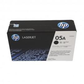 CE505A HP 05A оригинальный лазерный картридж HP чёрный, ресурс - 2300 страниц