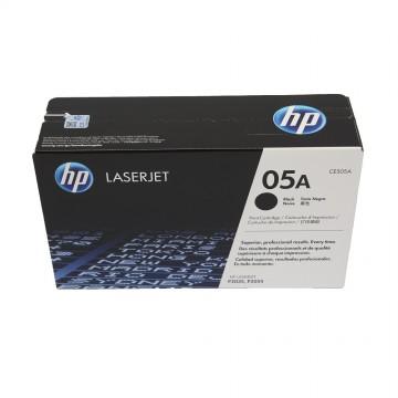 HP 05A Black | CE505A оригинальный лазерный картридж - черный, 2300 стр