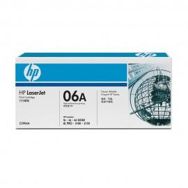 C3906A HP 06A Оригинальный лазерный картридж HP чёрный, ресурс - 2500 страниц