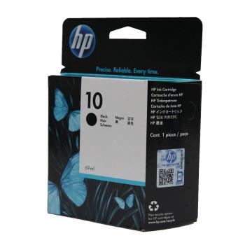 HP 10 Black | C4844A оригинальный струйный картридж - черный, 2200 стр