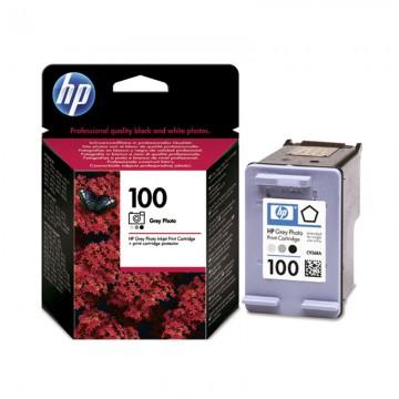 C9368AE HP 100 оригинальный струйный картридж HP серый-фото, ресурс - 80 фото 10 х 15