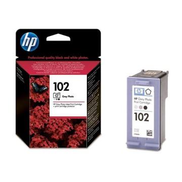 C9360HE HP 102 оригинальный струйный картридж HP серый-фото, ресурс - 120 фото 10 х 15