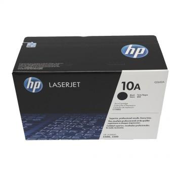 Q2610A HP 10A оригинальный лазерный картридж HP чёрный, ресурс - 6000 страниц