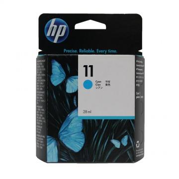 C4836AE HP 11 Cyan оригинальный струйный картридж HP голубой, ресурс - 1750 страниц