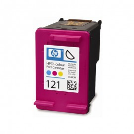 CC643HE HP 121Color оригинальный струйный картридж HP цветной, ресурс - 165 страниц