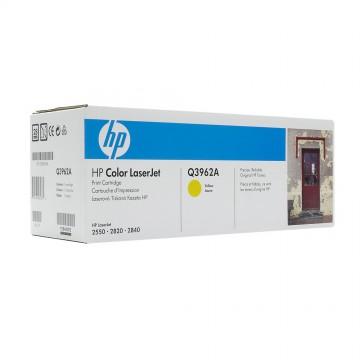 Q3962A HP 122A оригинальный лазерный картридж HP жёлтый, ресурс - 4000 страниц