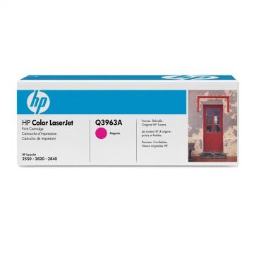 Q3963A HP 122A оригинальный лазерный картридж HP пурпурный, ресурс - 4000 страниц
