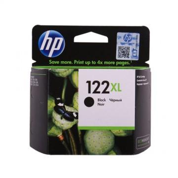 CH563HE HP 122XL Black оригинальный струйный картридж HP чёрный, ресурс - 480 страниц