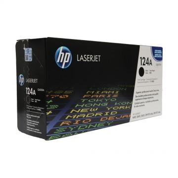 Q6000A HP 124A оригинальный лазерный картридж HP чёрный, ресурс - 2500 страниц