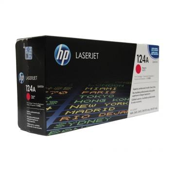 Q6003A HP 124A оригинальный лазерный картридж HP пурпурный, ресурс - 2000 страниц
