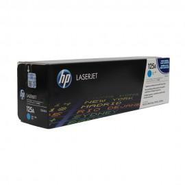 CB541A HP 125A оригинальный лазерный картридж HP голубой, ресурс - 1400 страниц