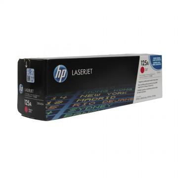 CB543A HP 125A оригинальный лазерный картридж HP пурпурный, ресурс - 1400 страниц