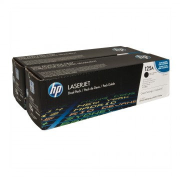 CB540AD HP 125AD оригинальный лазерный картридж HP чёрный, ресурс - 2 * 2200 страниц