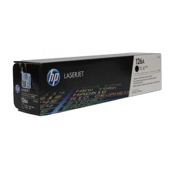CE310A HP 126A оригинальный лазерный картридж HP чёрный, ресурс - 1200 страниц