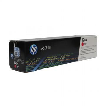 CE313A HP 126A оригинальный лазерный картридж HP пурпурный, ресурс - 1000 страниц