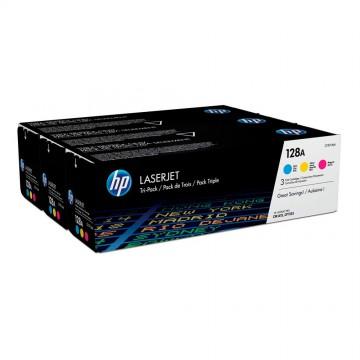 CF371AM HP 128A набор лазерных картриджей HP, ресурс - 3 * 1300 страниц