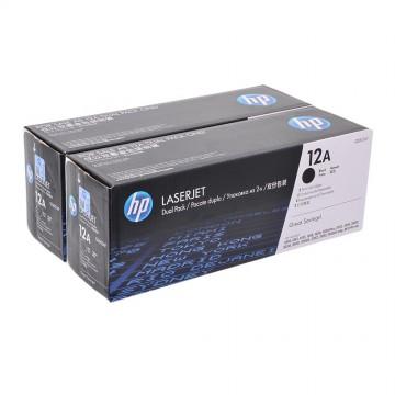 Q2612AD HP 12AD оригинальный лазерный картридж HP чёрный, ресурс - 2 * 2000 страниц