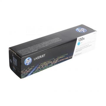 HP 130A Cyan | CF351A оригинальный лазерный картридж - голубой, 1000 стр