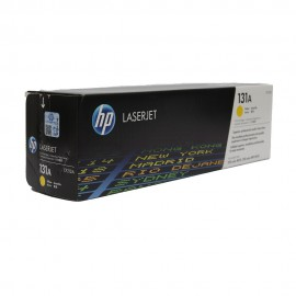 CF212A HP 131A оригинальный лазерный картридж HP жёлтый, ресурс - 1800 страниц
