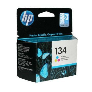 C9363HE HP 134 оригинальный струйный картридж HP цветной, ресурс - 560 страниц