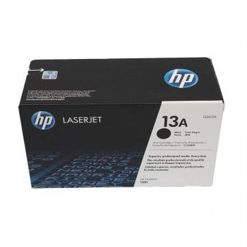 Q2613A HP 13A оригинальный лазерный картридж HP чёрный, ресурс - 2500 страниц