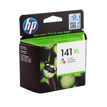 CB338HE HP 141XL оригинальный струйный картридж HP цветной, ресурс - 580 страниц