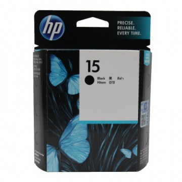 C6615DE HP 15 оригинальный струйный картридж HP чёрный, ресурс - 500 страниц