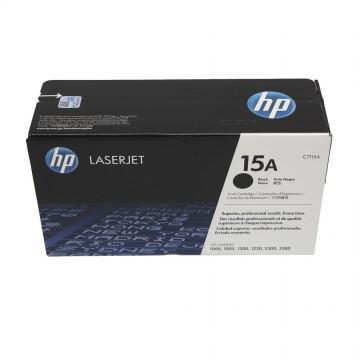 HP 15A Black | C7115A оригинальный лазерный картридж - черный, 2500 стр