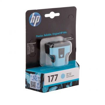 C8774HE HP 177 Light cyan оригинальный струйный картридж HP светло-голубой, ресурс - 220 страниц