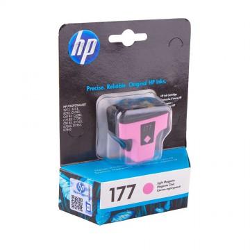 C8775HE HP 177 Light magenta оригинальный струйный картридж HP светло-пурпурный, ресурс - 230 страниц