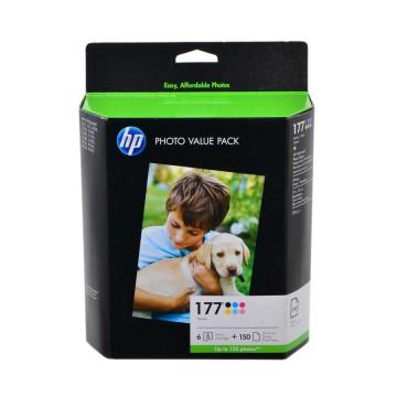 Q7967HE HP 177 pack оригинальный набор струйных картриджей HP, ресурс - 400 страниц