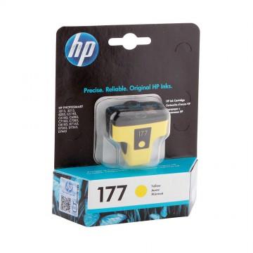 C8773HE HP 177 Yellow оригинальный струйный картридж HP жёлтый, ресурс - 500 страниц