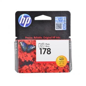 HP 178 Photo black | CB317HE оригинальный струйный картридж - черный-фото, 130 стр