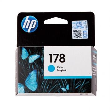 CB318HE HP 178 Cyan оригинальный струйный картридж HP голубой, ресурс - 300 страниц